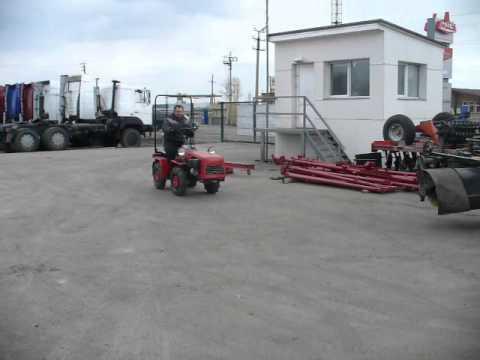 Тест-Драйв мини-трактора Беларус
