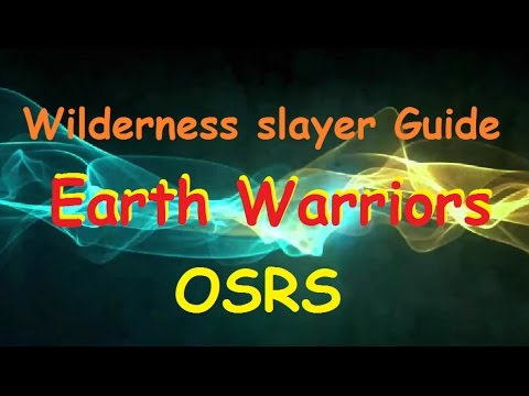 Earth warriors Wilderness slayer Guide (Commentary) OSRS