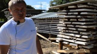 видео Сушка древесины: виды и технология