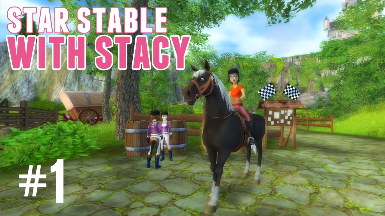 star stable with stacy 1 arriving at moorland stables youtube. Black Bedroom Furniture Sets. Home Design Ideas