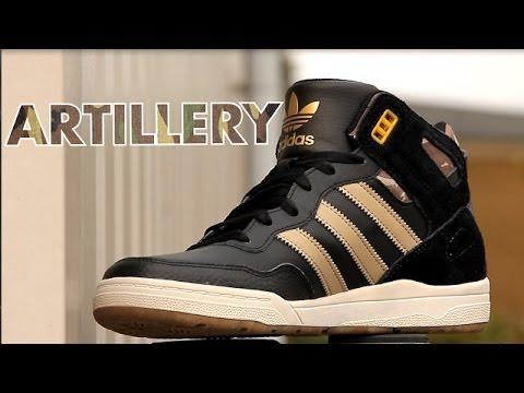 7a1dd914a9d Populair Adidas Artillery AS Zwarte hoge Sneakers Herenschoenen | Sooco  #EO28