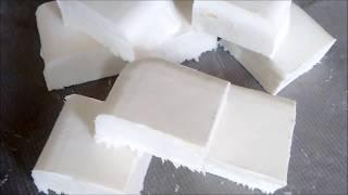 Sabão sem soda com abrasivo natural