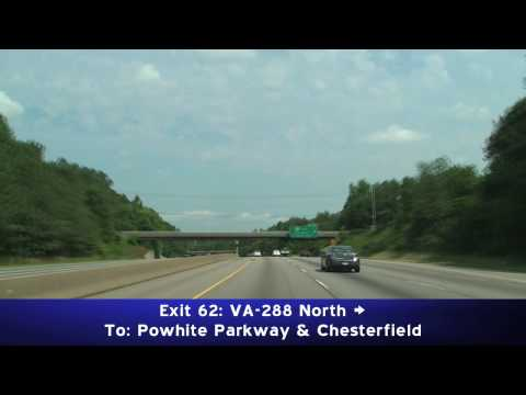 I-95 North, Richmond Virginia