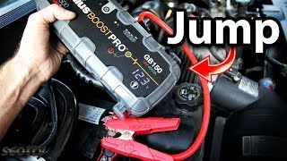 How To Use Jump Starter On A Dead Car Battery
