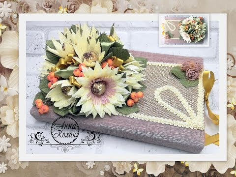 decoration-of-a-candy-box-with-flowershow-to-beautifully-pack-candy-in-a-gift-box