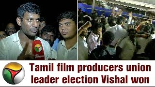 Major victory for Vishal in TN Film Producers' Council Elections