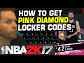 LOCKER CODE CHEAT! EXPOSING HOW I GOT PINK DIAMOND KEVIN LOVE NBA 2K17!