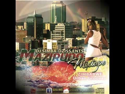 30 MAZIRUDO/LOVE SONGS ♥ DJ SIMBA Zim Urban Grooves MIXTAPE.
