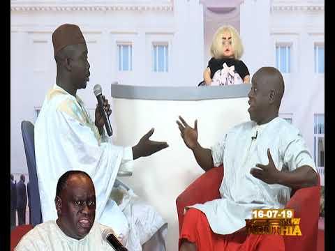 Maitre El Hadj  Diouf dans Kouthia Show du 16 Juillet 2019