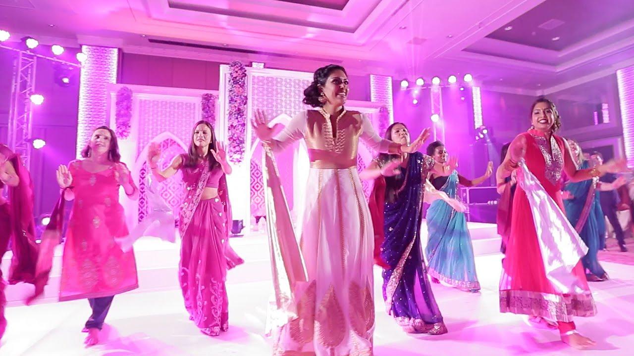 Bridesmaids Indian Wedding Dance Youtube