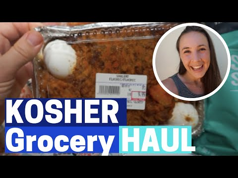 KOSHER GROCERY HAUL! + Unique KOSHER FOOD!