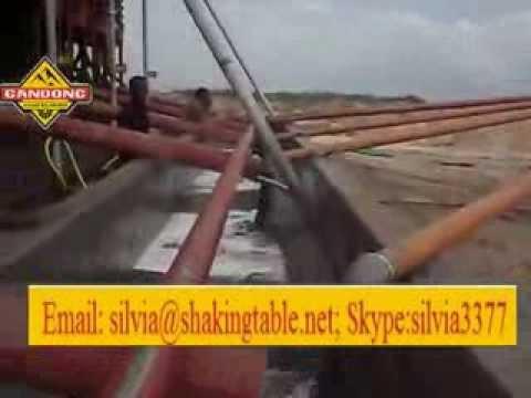 Somalia Ilmenite Ore Working Site With Our Gravity Separators In 2008