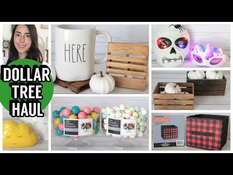 DOLLAR TREE HAUL OCTOBER 2019 NEW FINDS