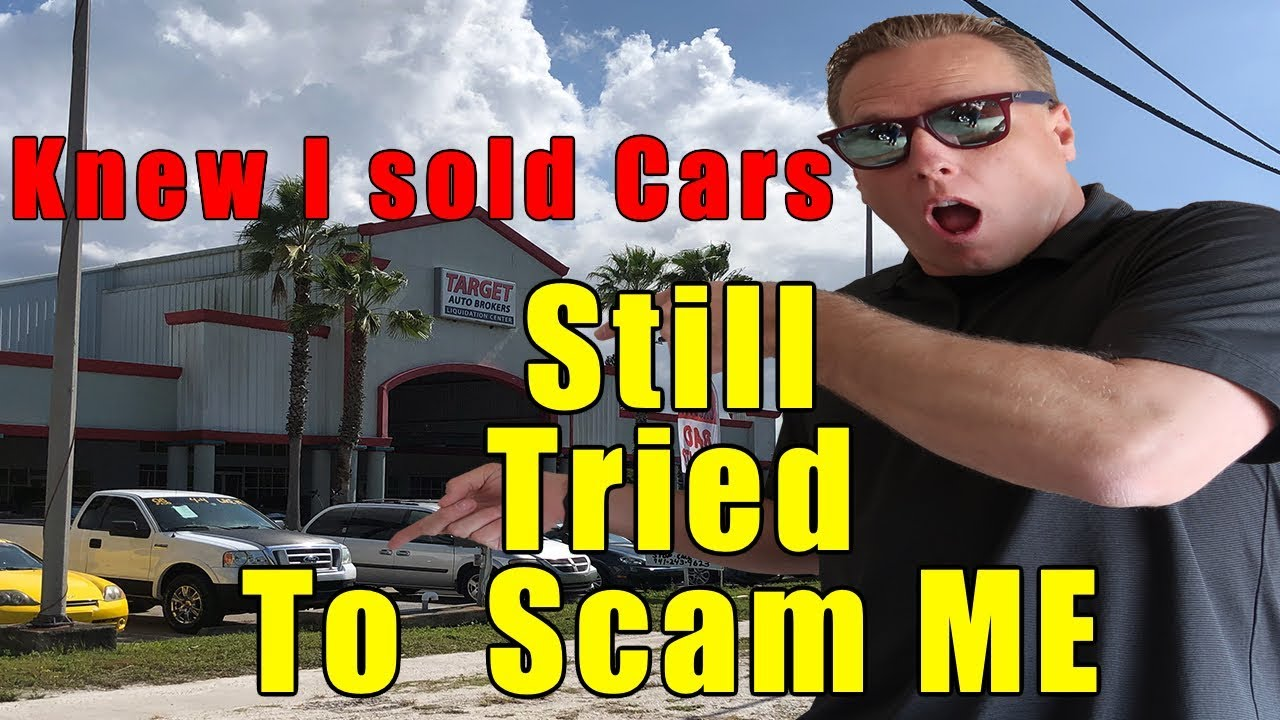 Buying a car from the WORST car dealer in the country  Well, tried to