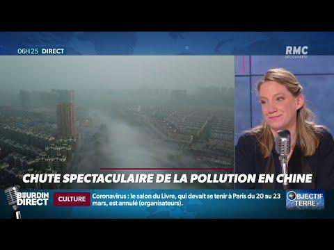 La pollution baisse de manière spectaculaire en Chine