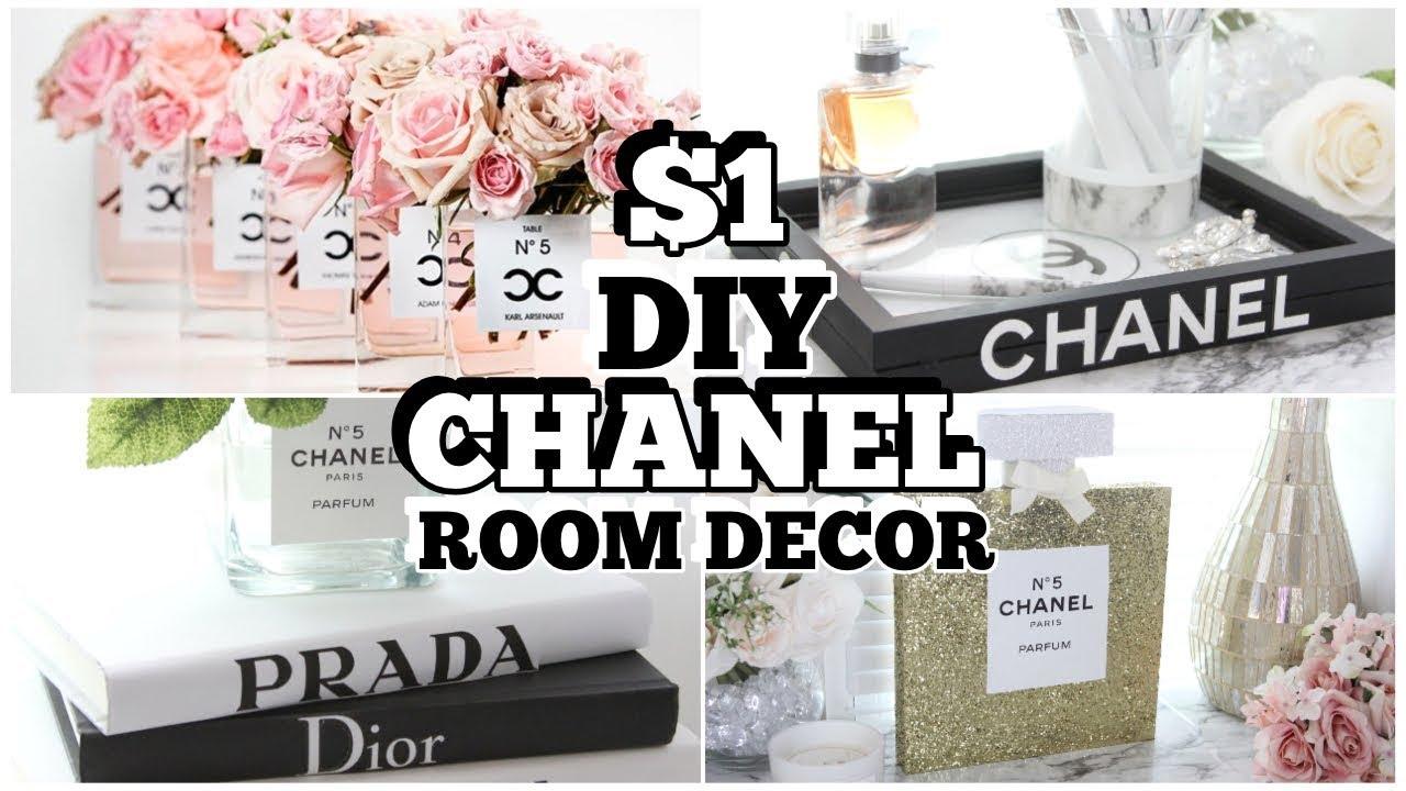 1 Chanel Dollar Tree 4 Diy Hacks Room Decor Doovi