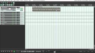Tutorials For Reaper | Basic MIDI | Midi Items | Piano Roll | Loop and Copy | Time Selection Loop
