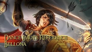 Bellona Dance Reference - Rock With U (SMITE)