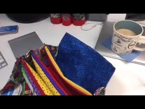 Sewing Binding by Machine & Glue Basting Sew-Along Tutorial