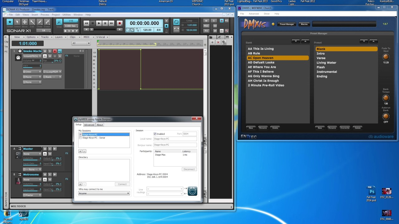 Part 2: Qlab: Setting up Video, Midi Lighting Files, & Syncing Video With  Backing Tracks