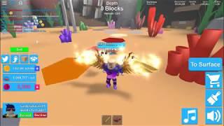 Earning money fast in Roblox Mining Simulator