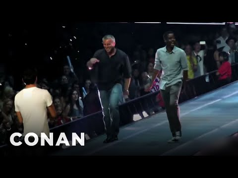 Matt LeBlanc Made A Fool Of Himself On Stage With Taylor Swift  - CONAN on TBS