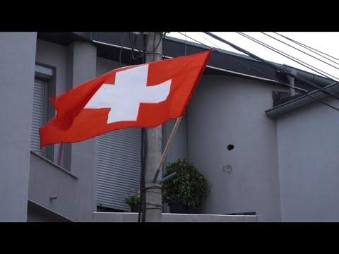Kosovo comemora vitória suíça