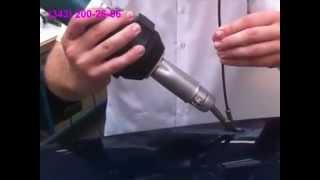 Ремонт пластиковых бамперов(Только сварка горячим воздухом с использованием пластикового прутка позволяет полностью восстановить..., 2013-04-08T07:30:49.000Z)