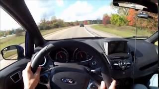 2014 Ford Fiesta ST - Мини обзор и тест-драйв с видом из салона.