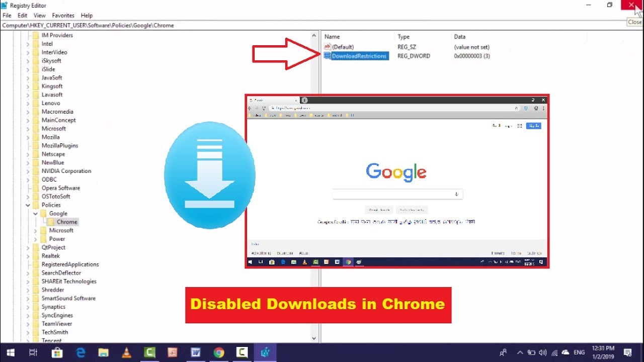 How to Block Download in Google Chrome in Windows 10