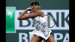 2018 Indian Wells Quarterfinal | Venus Williams vs. Carla Suárez Navarro | WTA Highlights