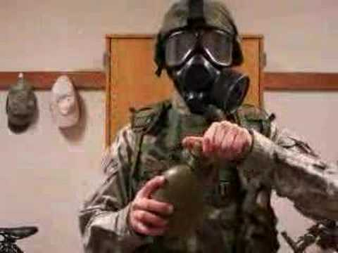 How To Drink With A Gasmask