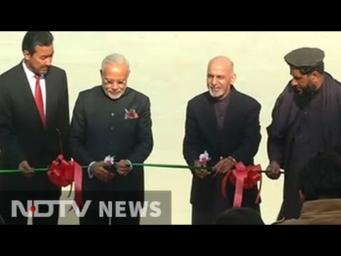 PM Modi inaugurates new Afghan Parliament built by India