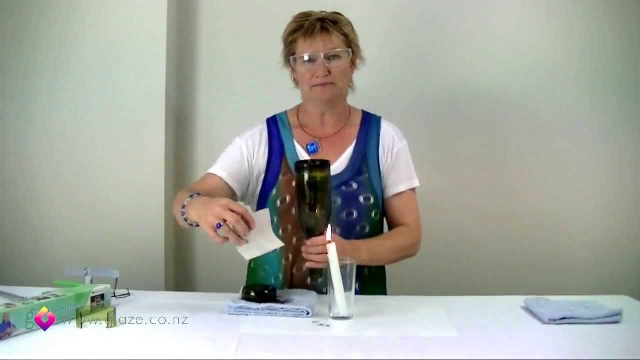 glass bottle cutter how to cut glass bottles part 2