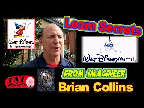 #1362 Disney IMAGINEER BRIAN COLLINS shares SECRETS in walking Tour at Disney World!