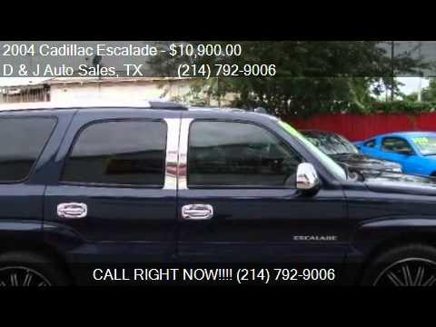 2004 Cadillac Escalade Base AWD 4dr SUV for sale in Dallas,