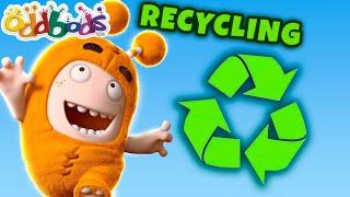 Oddbods Step It Up & Do Recycling   Episode by @Oddbods & FRIENDS