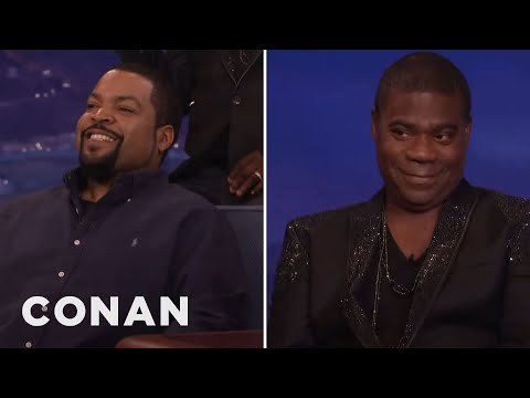 Ice Cube: Tracy Morgan Is Always Talking About Much Money He Has  - CONAN on TBS