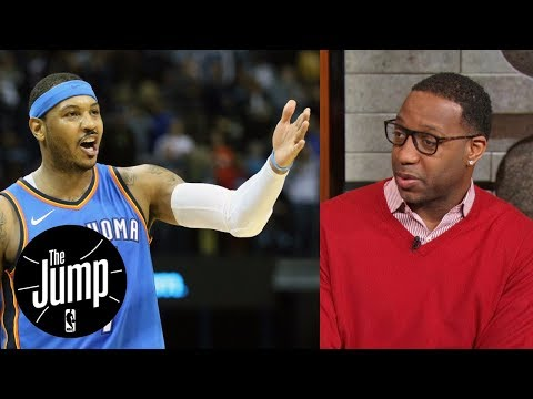 Tracy McGrady says Carmelo Anthony should come off Thunder