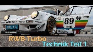 turboelite.com: Porsche RWB Turbo - Technik Teil 1