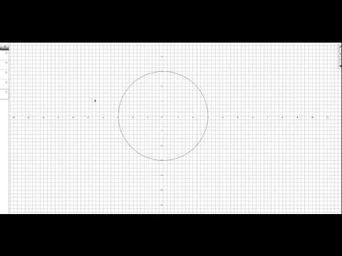 Как построить окружность