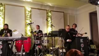 Beri Weber and the Kolplay orchestra at the Wax-Rosenberg wedding (intro)