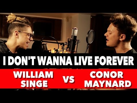 Thumbnail: ZAYN & Taylor Swift - I Don't Wanna Live Forever (SING OFF vs. William Singe)
