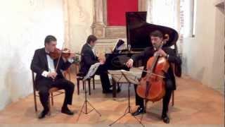 Schubert Trio Op 100-D929 II mov, Trio Riccati, S.Maria di Castello, Biancade