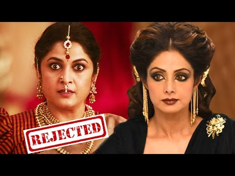 Here's Why Sridevi Rejected Sivagami's Role In Baahubali 2