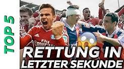 Abstiegskampf: Top 5 Bundesliga Rettungen in letzter Sekunde 😳