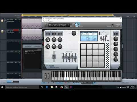 VST DrumMachine in MusicMaker