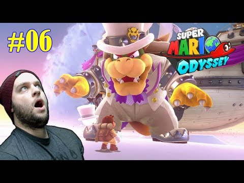 Dude, Bowser Is HUGE! - Super Mario Odyssey - Gameplay [#06]
