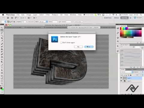 Photoshop CS5 Tutorial #5: How To Make A Scanline Pattern