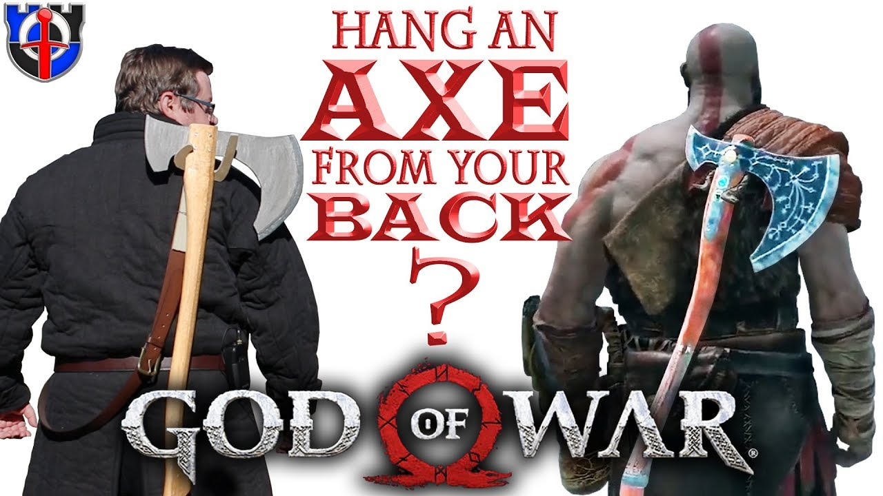 Can You Hang An Axe From Your Back As Easy As Kratos In God Of War